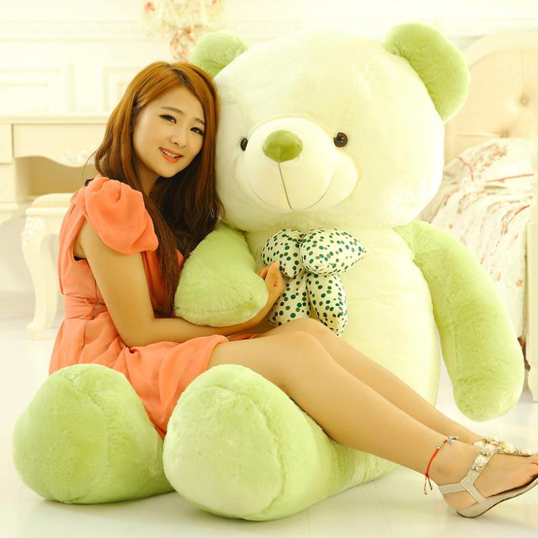 Low price Plush toys large size100cm / teddy bear 1m/big embrace doll /lovers/christmas gifts birthday gift - Dream Girls store