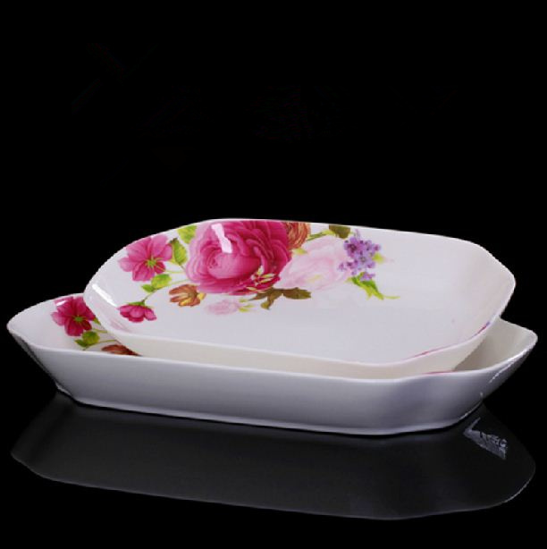 Ceramic Fish Bones : Cm ceramic fish plate large dish serving for