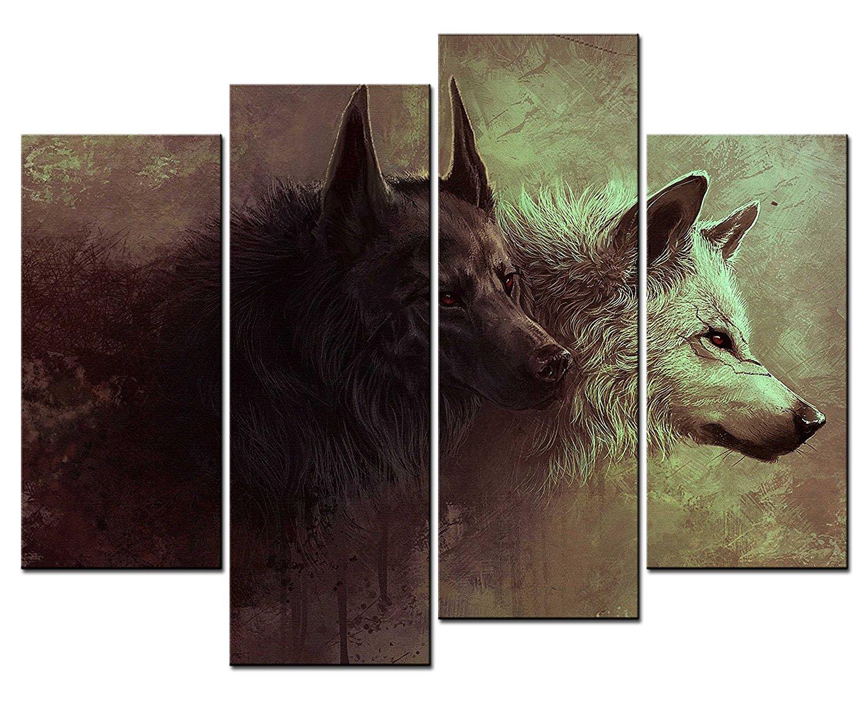 wolf wandkunst kaufen billigwolf wandkunst partien aus china wolf wandkunst lieferanten auf. Black Bedroom Furniture Sets. Home Design Ideas