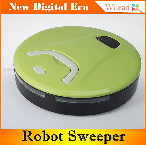 Household Intelligent Sweeper Robot LCD Low Noise mop gift for mother smart home appliance vacuum cleaner AD0016(China (Mainland))