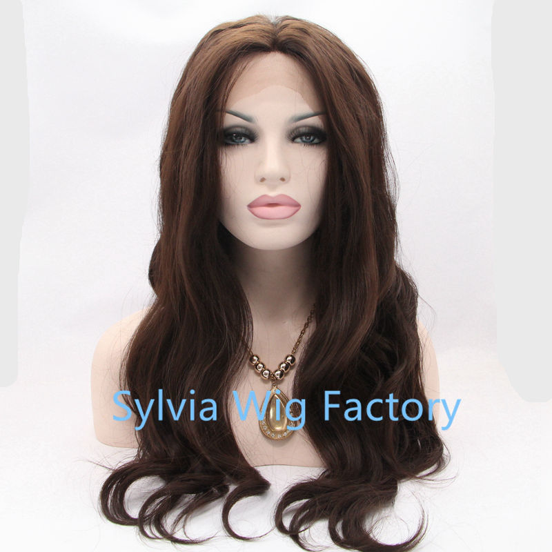 premium body ombre brown wig American brazilian for black women synthetic lace front cosplay wig free shipping in sock<br><br>Aliexpress