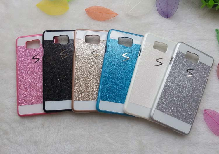 1PCS Luxury Glitter Case For Samsung Galaxy Alpha 850 G850 G8508S G8509V Sparkle Glitter Hard Plastic Back Covers Phone Cases(China (Mainland))