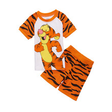 Buy 2017 New 100% Cotton Baby Boys Girls Clothing Set Children Shirt + Pants Set Kids Cartoon Clothes Casual Suits YY1529 for $6.55 in AliExpress store
