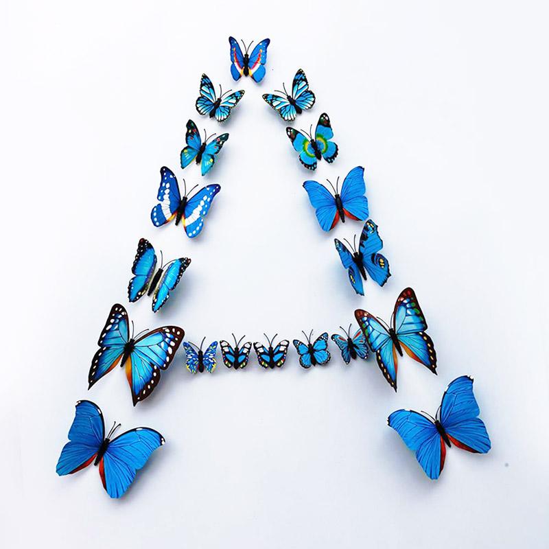 popular 3d butterfly stickers buy cheap 3d butterfly buy wall stickers 3d butterfly butterflies green yellow