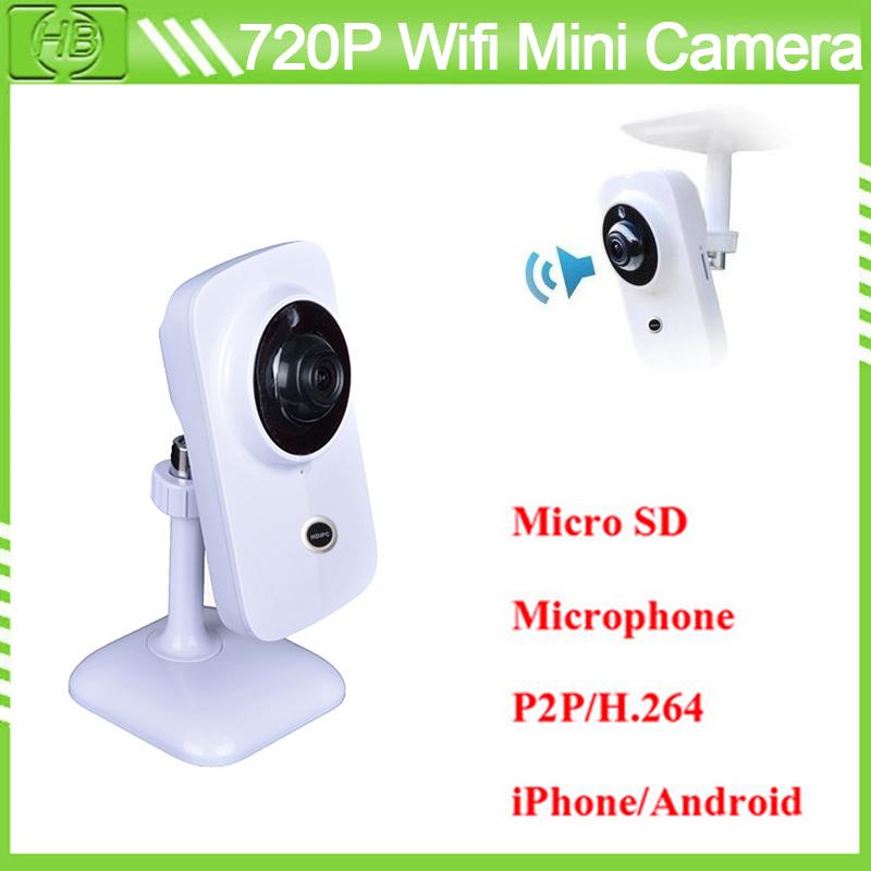 1MP Cam Home Surveillance Video Security Camera CCTV HD 720P Wireless WIFI Network IP Camera Outdoor Onvif H.264 IR Night Vision(China (Mainland))