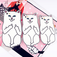 For iPhone 4s/ 5 5s / 5C / SE/ 6 6s 7/ 6 Plus 6s Plus 7 Plus RIPNDIP Pocket Cat Silicone Rubber Cell Phone Cases Covers(China (Mainland))