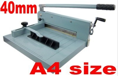 Desktop Stack Paper Cutter Guillotine A4 size Cutting Machine 40mm thickness
