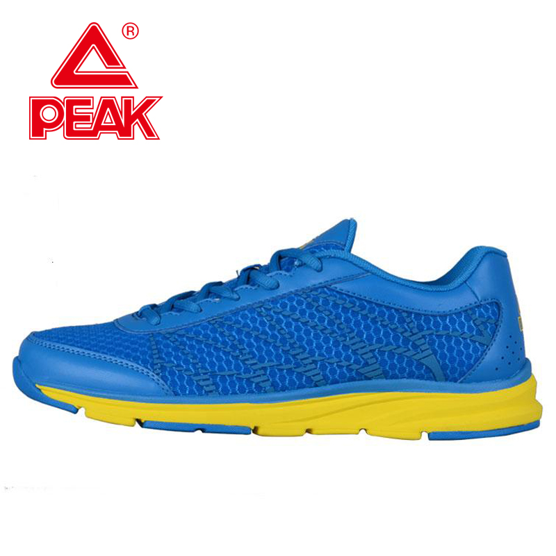 PEAK SPORT Mens Spring Autumn Breathable Running Shoes Super Cool Blue sports shoe<br><br>Aliexpress