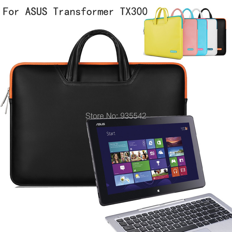 Cartinoe Lithe Fabric Hand Carrying Briefcase Case Laptop Bag Sleeve For 13.3 ASUS Transformer Book TX300/ T300LA Ultrabook<br><br>Aliexpress