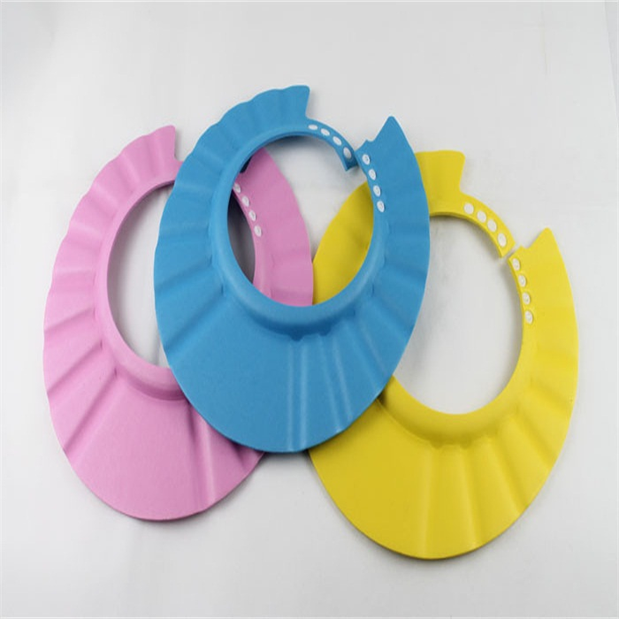 adjustable shower cap protect shampoo for baby health bathing bath