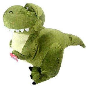 Dinosaur plush toy Christmas gift soft toys stuffed plush toy factory supply wholesale and retails freeshipping(China (Mainland))