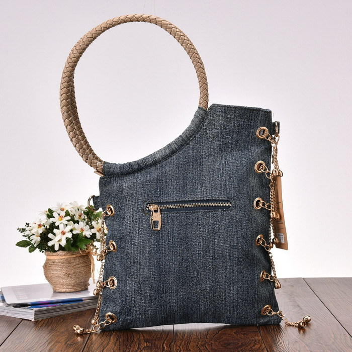 Woman modern bags and shoes made of jeans u2013 What Woman Needs