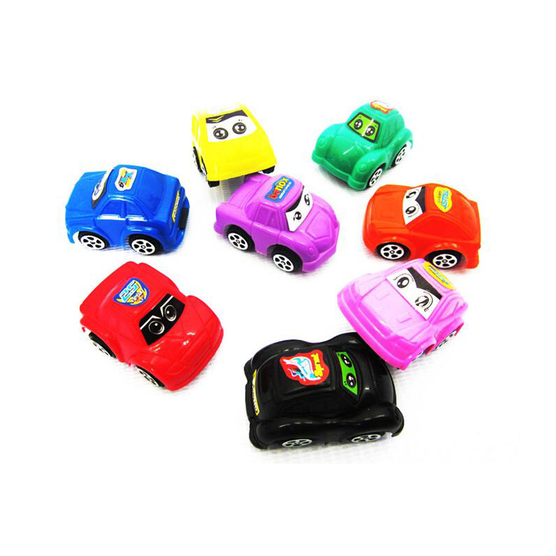 2015 New 20pcs/lot Plastic Baby Car Classic Toys Non-Remote Control Toy Vehicle Mini Cartoon Pull Back Car Toys For Children(China (Mainland))