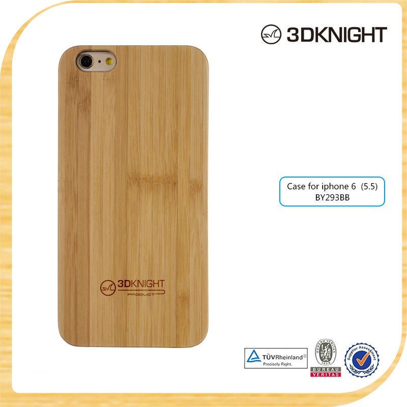 Fashion Wood Case Thin For iPhone 6 Original Bamboo Madera Bambu Carcasas Fundas Phone Case Cover for iPhone6 Plus Eco-Friendly(China (Mainland))