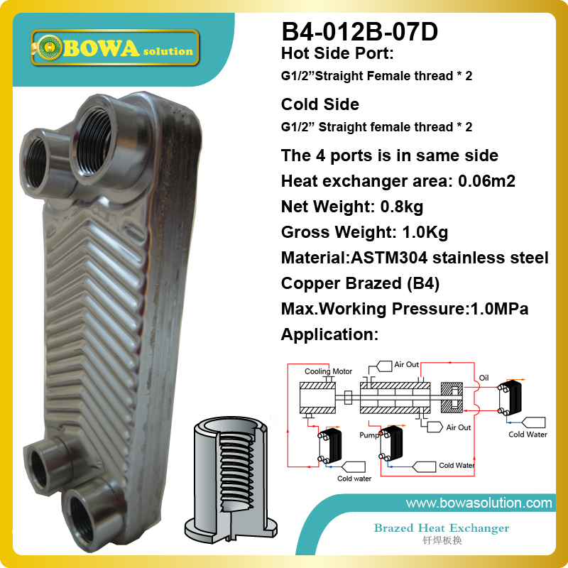 Nickel brazed stainless steel plate heat exchanger(China (Mainland))
