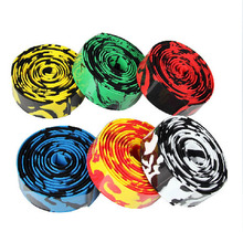 2015 New Arrival cycling handle belt road bike handlebar tape Wrap 1.95m 30*2.5mm Bicycle Bar Tape With with 2 Bar Plugs