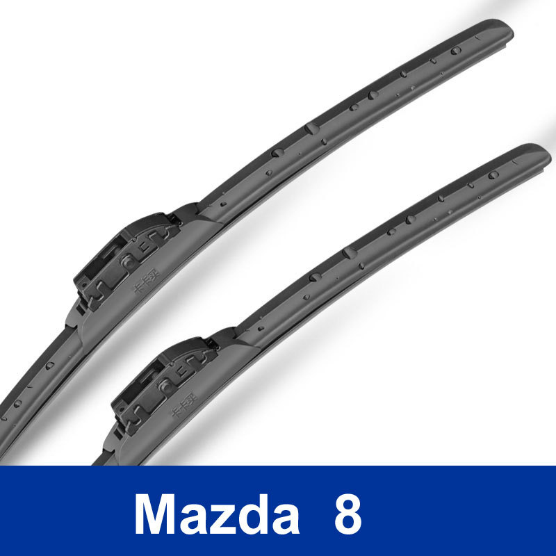 2 pcs pair High Quality Auto Replacement Parts car decoration accessories The front wiper blades for