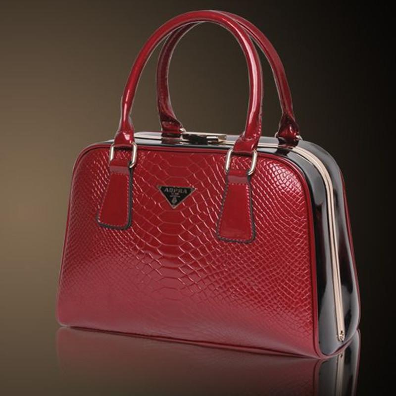 Promotion!! special offer Guaranteed Ladies' Fashion Composite Genuine Leather Handbags Designer Tote Bride Bag AFGS-67(China (Mainland))