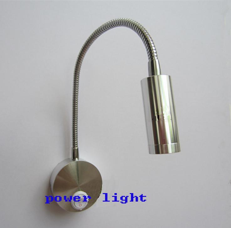 Wall Reading Lamp Led : Aluminum 3W Flexible Led Reading Light Headboard Led Wall Lamps For Bedroom Living Room-in LED ...