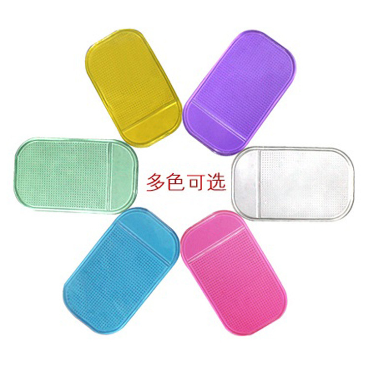 Mobile phone pad car Styling Powerful Silica Gel Magic Sticky Pad Anti Slip Mat for Phone Car Accessories Anti-slip pad 5pcs mp1(China (Mainland))