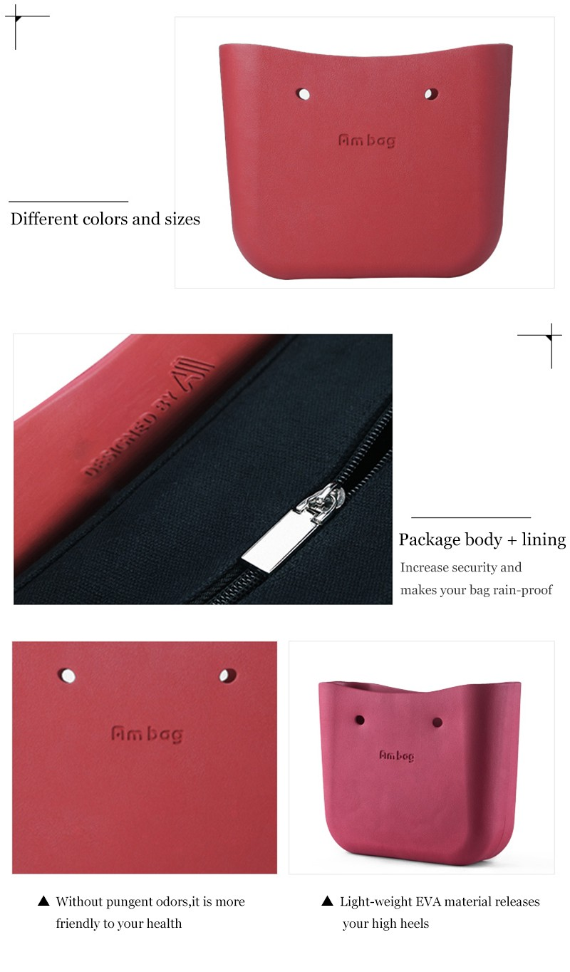 Classic big bag body Obag style women's bags fashion handbag AMbag Obag big bags spare parts bagbody Italy Obag style