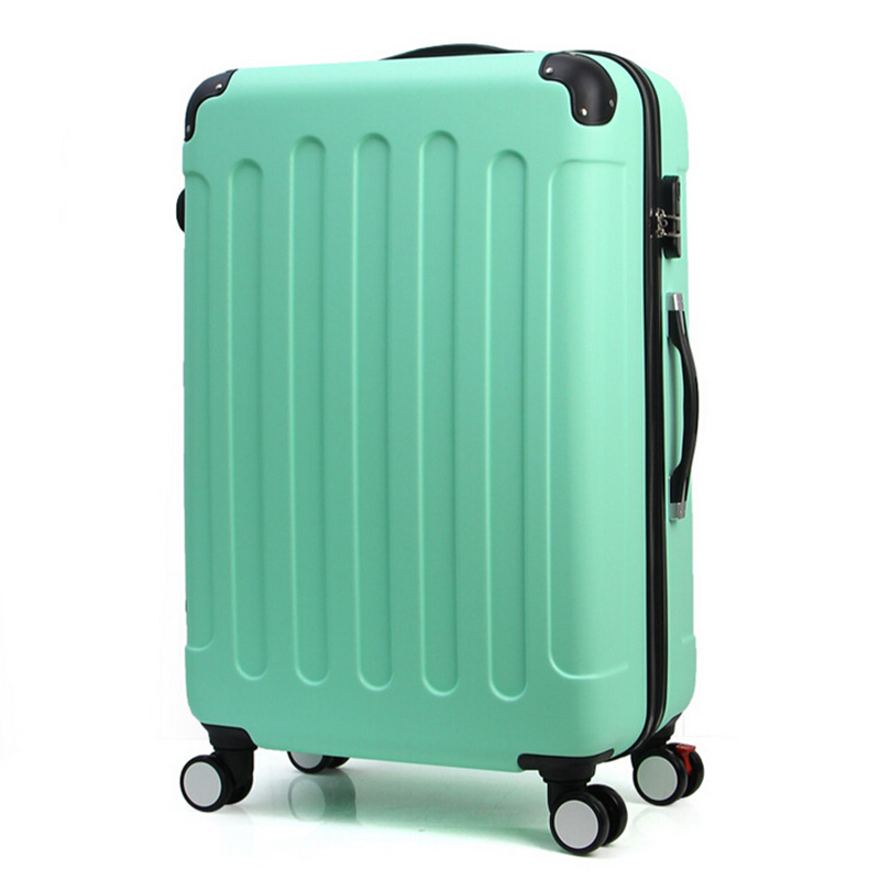 20,24 Inches Spinner Wheel ABS Trolley Travel Bag Luggage Suitcase Boarding Rolling - Jiyaru Store store