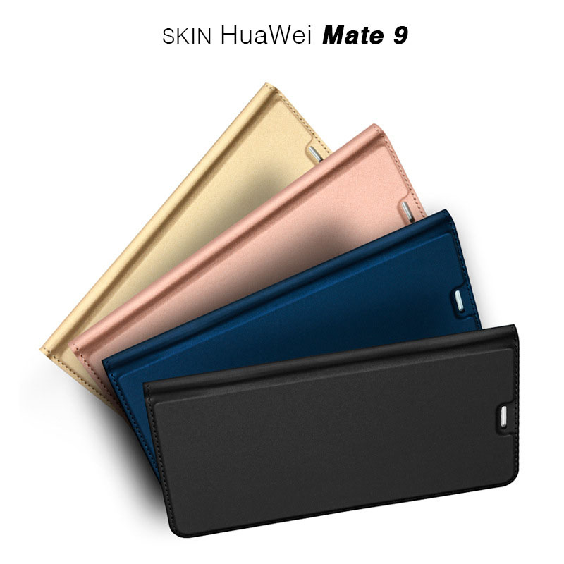 Case For Huawei Mate 9 new phone case flip cover leather case MATE9 protective sleeve mobile phone sets manufacturers wholesale(China (Mainland))