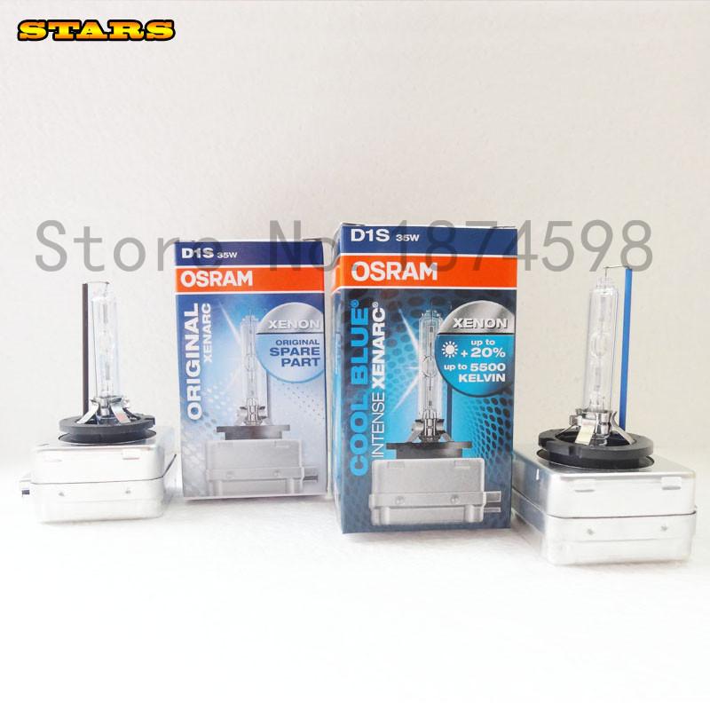 2 piece Lighting Headlight Xenon Bulb For Osram D1S 66144 CBI 35W 4300k 5500K 12V warm white and Cold White Color<br><br>Aliexpress