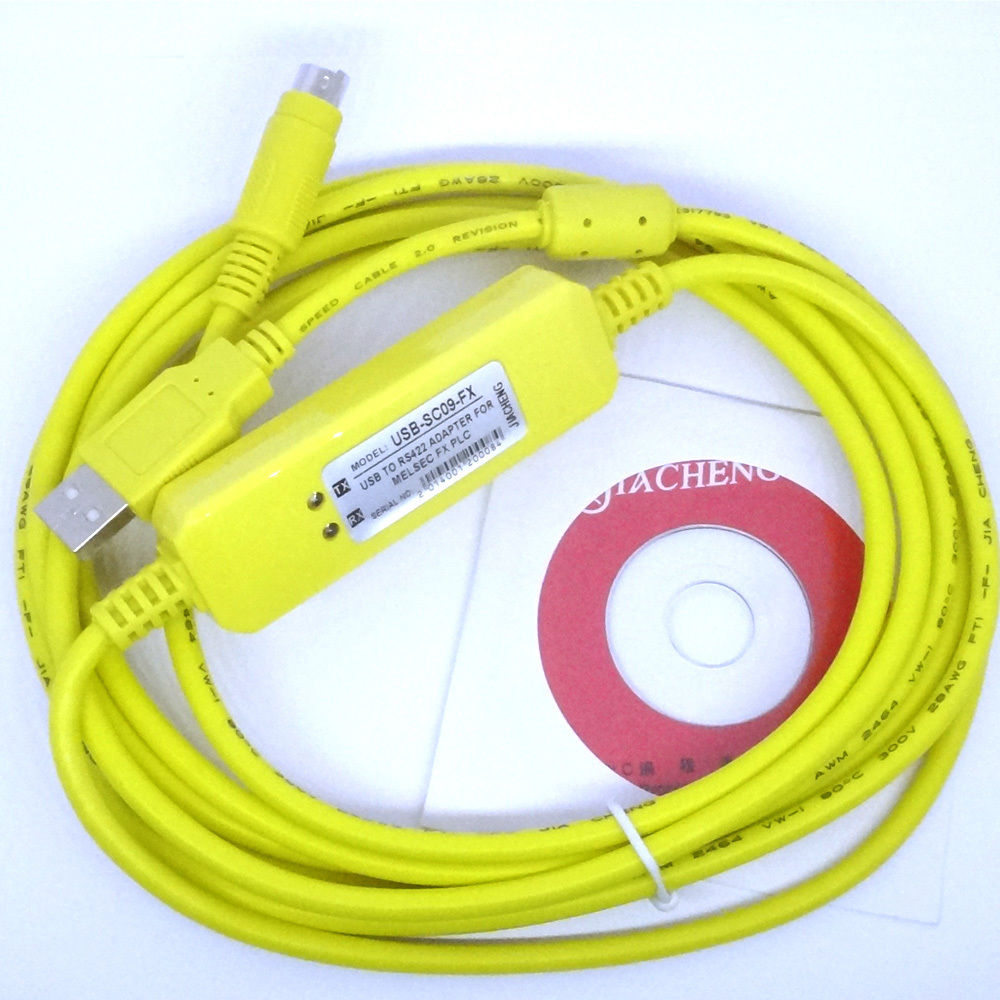 USB-SC09-FX for Mitsubishi PLC Programming Cable support Win7(China (Mainland))
