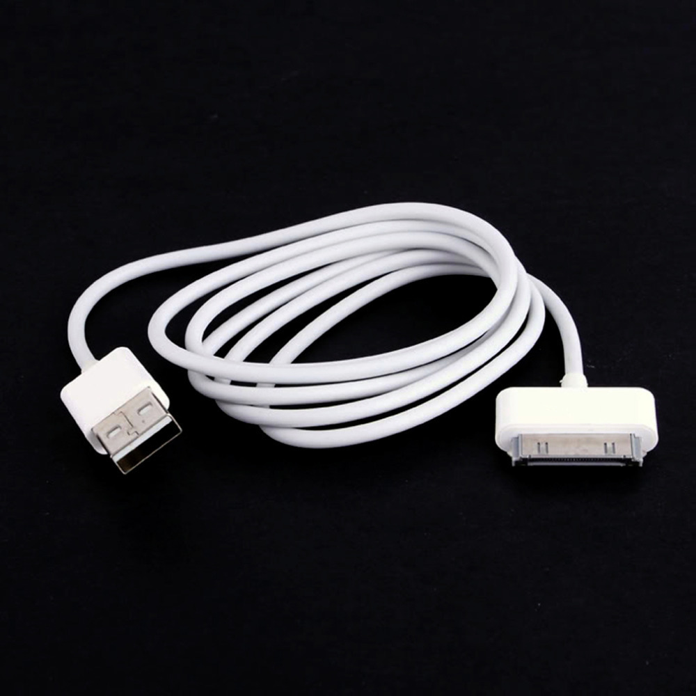 1m USB Sync Data Charging Charger Cable Cord for Apple iPhone 3GS 4 4S 4G iPad 2 3 iPod nano touch Adapter high quality(China (Mainland))