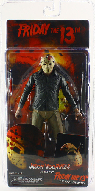 "NECA FRIDAY THE 13TH THE FINAL CHAPTER JASON VOORHEES 7"" ACTION FIGURE"