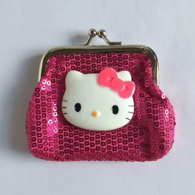 Привет котенок маленькие кошельки мини изменить оптовая продажа серия-животных кошельки
