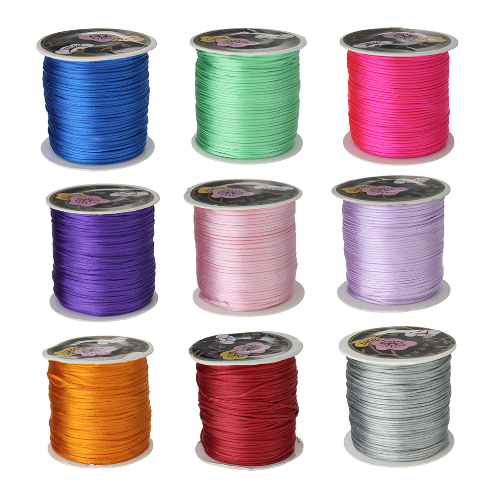 70m/PC 1mm Nylon Cord Thread Chinese Knot Macrame Cord Bracelet Braided String DIY Tassels Beading Shamballa String Thread(China (Mainland))