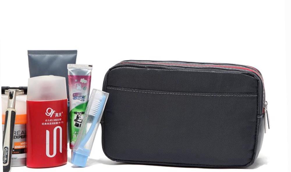 Germany brand nylon cosmetic travel bag men makeup organizer necessaries bag male toiletry storage bags bolsos borse sar a main(China (Mainland))