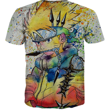 Buy Classic Japanese anime Naruto t-shirt casual summer t fashion Short sleeve Men Women casual harajuku tee tops free for $10.46 in AliExpress store