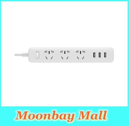2016 new 100% Original xiaomi power strip fast charging 3 sockets USB Extension Socket Plug with Socket Standard Socket material(China (Mainland))