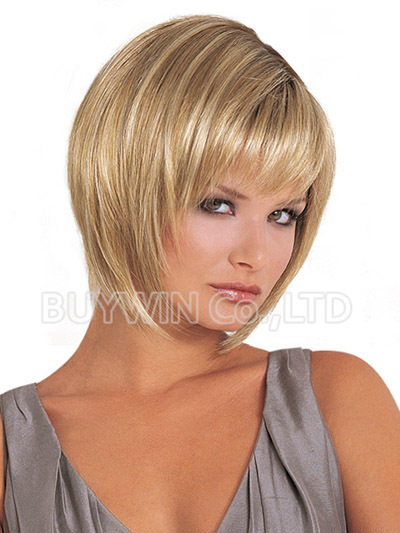 Free Shipping DIscount Wholesale Bobbi Boss Style Short Wigs For Women,Fashion Cheap Synthetic Kanekalon Bob Wig(China (Mainland))