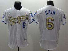 #16 Bo Jackson Royals jersey kc stitched Kansas City Royals gold jersey throwback baseball alvador Perez #35 Eric Hosmer jersey(China (Mainland))