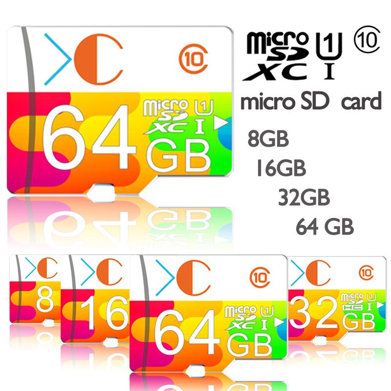 XC Micro SD Card Memory Card 8GB/16GB/32GB/64GB/128GB TF Trans Flash Card(China (Mainland))