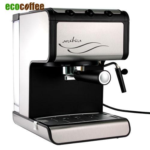 Гаджет  1PC Espresso Semi Automatic 15Bar 220V 850W Household Coffee Machine 1.5L Water Tank Espresso Coffee Maker None Бытовая техника
