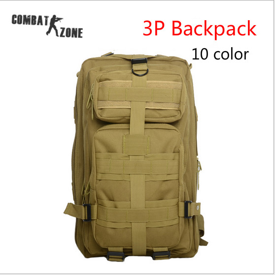 600D High Quality Nylon Molle Tactical 3-Pocket Hydration Assault Backpack Bag with Zipper Closure ACU CP 10 Color Free Shipping<br><br>Aliexpress