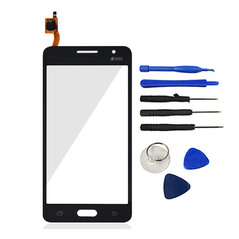 New For Samsung Galaxy Grand Prime G530 G530H G5308W Touch Screen Digitizer Sensor Front Glass Lens Toos Logo Free Shipping