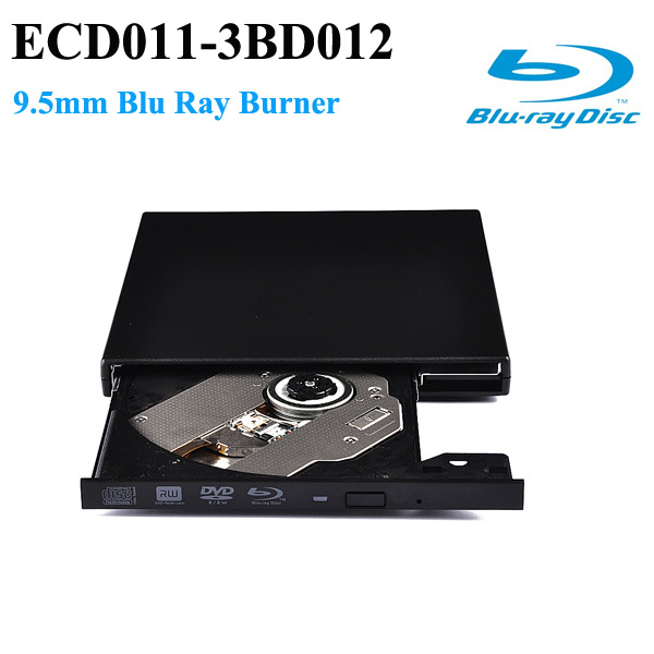 ECD011 USB 2.0 Blu-ray Burner DVD RW Drive Multi Function Media Player external driver support 3d movies(China (Mainland))