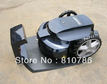 First Generation Intelligent Lawn Mower/+Auto Recharged+Remote Controller+Cutting height adjustment+Li-ion Battery