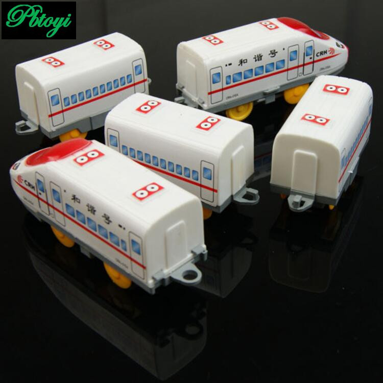 Factory Outlets High Quality children's Emu Train 5 Cars Electric Train Model Toy PB0143(China (Mainland))