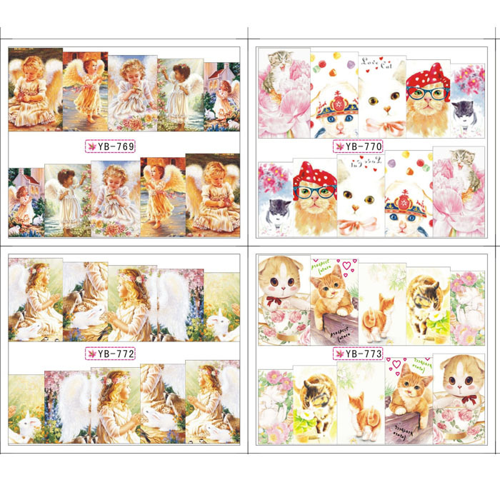 Decals Lovely Pet Angel 12