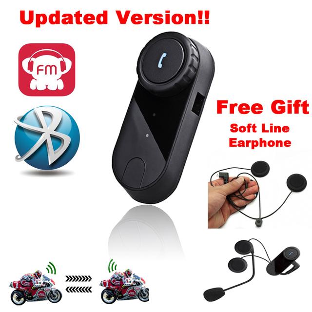 Free Shipping!!Newest1000m BT interphone bluetooth motorcycle Motorbike helmet intercom Headset