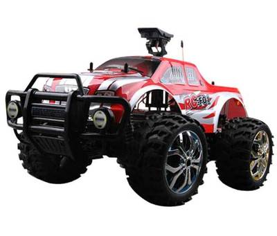RC F01 FPV 1:10 Electric 2WD Off Road RC Monster Truck/Car with Camera ...
