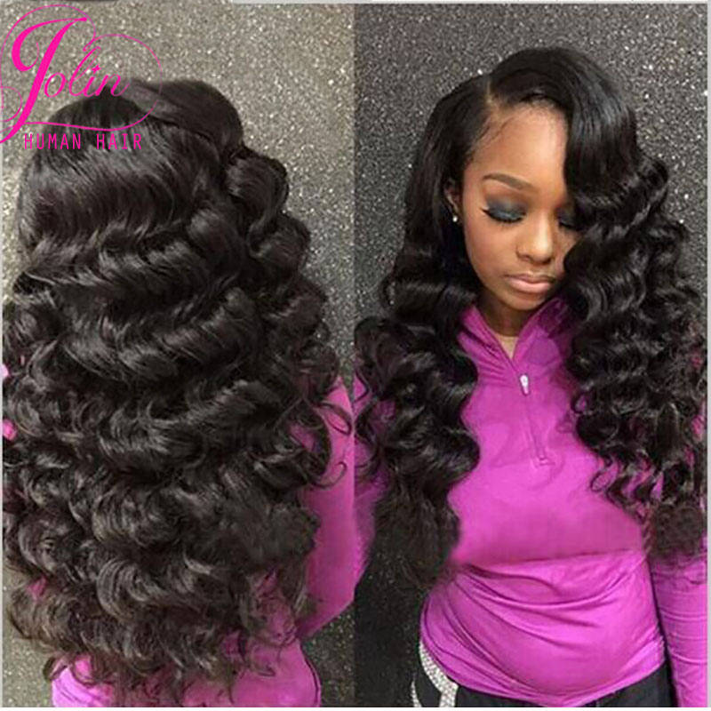 Top hair extensions vip hair company 8a unprocessed brazilian loose wave virgin hair 4 pcs brazilian virgin hair soft and full(China (Mainland))