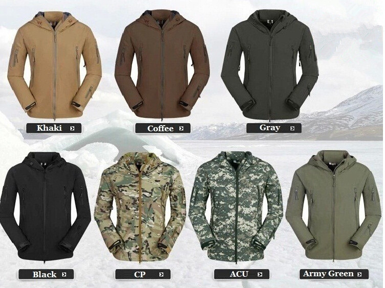 TAD Gear Lurker Shark skin Soft Shell V 4.0 Outdoor Military Tactical Jacket Waterproof Windproof Sports Hot Sale Army Clothing(China (Mainland))